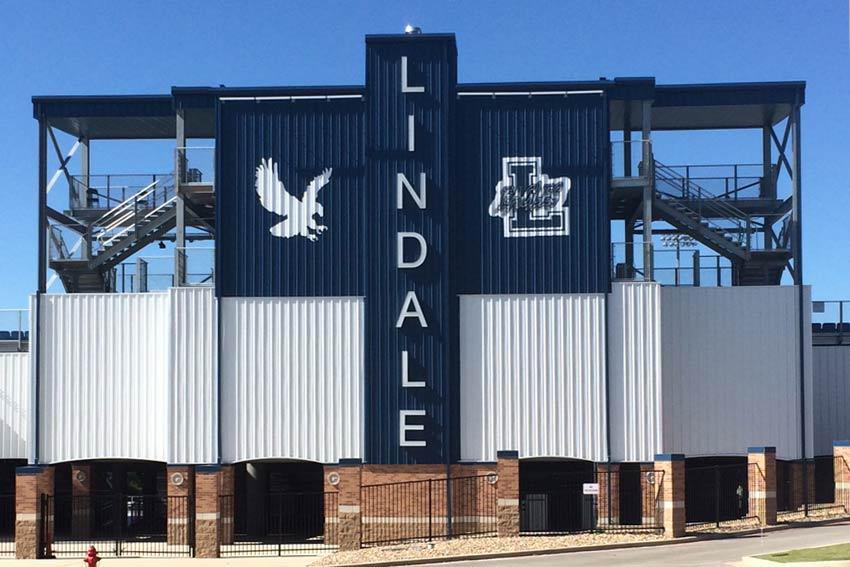 Lindale Texas - Eagles - Football Stadium